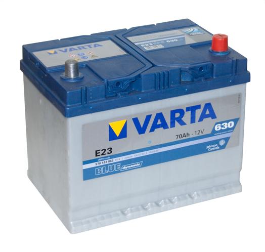 Автомобильный аккумулятор АКБ VARTA (ВАРТА) Blue Dynamic 570 412 063 E23 70Ач ОП