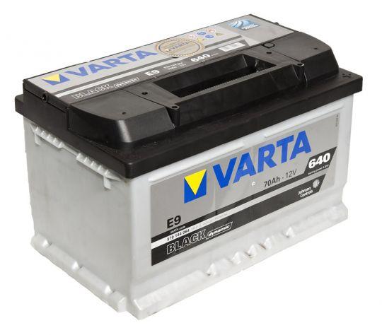 Автомобильный аккумулятор АКБ VARTA (ВАРТА) Black Dynamic 570 144 064 E9 70Ач ОП