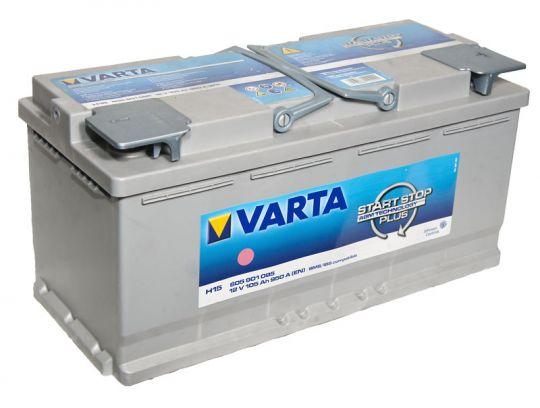 Автомобильный аккумулятор АКБ VARTA (ВАРТА) Start-Stop Plus Silver Dynamic AGM 605 901 095 H15 105Ач ОП