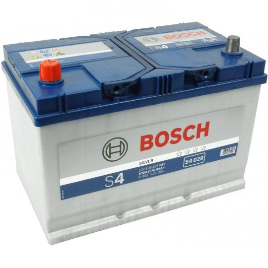 Автомобильный аккумулятор АКБ BOSCH (БОШ) S4 029 / 595 405 083 S4 Silver 95Ач п.п. (высок)