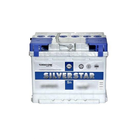 Автомобильный аккумулятор АКБ SilverStar (Сильвер Стар) 6СТ-65 L 65Ач п.п.