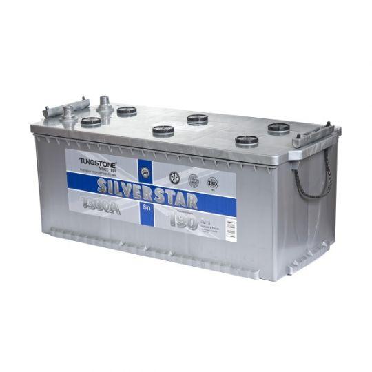 Автомобильный аккумулятор SilverStar (Сильвер Стар) 6СТ-190 N 190Ач О.П. (3) (евро)