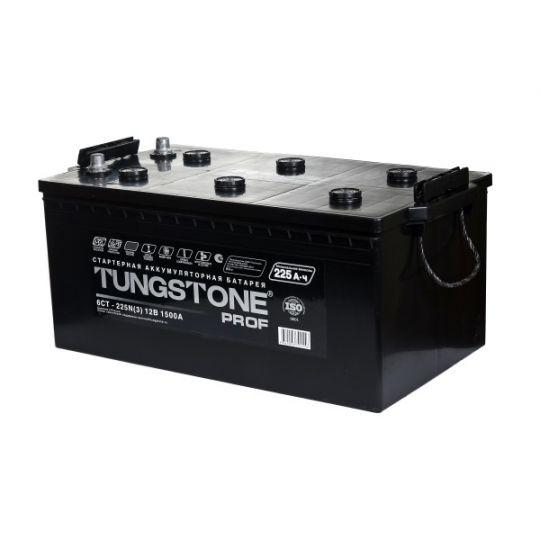 Автомобильный аккумулятор Tungstone Prof (Тангстоун Проф) 6СТ-225 N 225Ач О.П. (3) (евро)