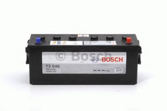Автомобильный аккумулятор АКБ BOSCH (БОШ) T3 046 / 643 107 090 143Ач о.п.