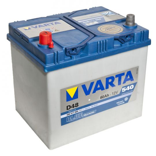 Автомобильный аккумулятор АКБ VARTA (ВАРТА) Blue Dynamic 560 411 054 D48 60Ач ПП