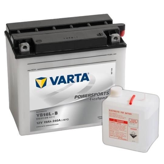 Аккумулятор для мототехники Varta 30Ач Moto 530 400 030 (YB30L-B) - фото 6