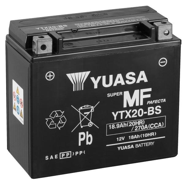 Аккумулятор для мототехники Varta 18Ач Moto AGM 518 902 026 (YTX20-BS) - фото 4