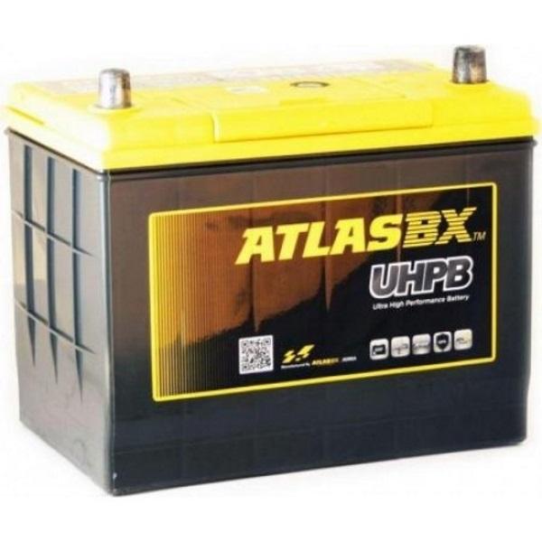 Автомобильный аккумулятор АКБ ATLAS (Атлас) UHPB UMF75B24R 55Ач п.п.