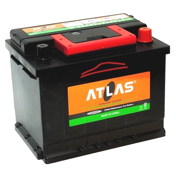 Автомобильный аккумулятор АКБ ATLAS (Атлас) 55559 55Ач о.п.