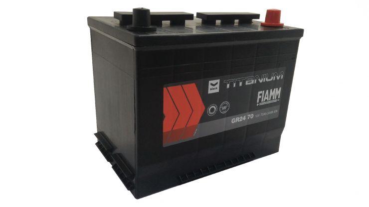 Автомобильный аккумулятор АКБ FIAMM (ФИАММ) BLACK Titanium GR2470 70Ач О.П.