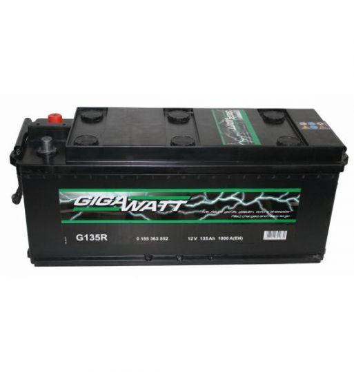 Автомобильный аккумулятор АКБ GIGAWATT (Гигаватт) 635 052 100 G135R 135Ач (3)